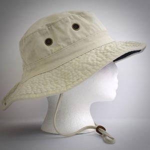 9226ab29c63a4 Panama Jack Accessories - Panama Jack Beige Khaki Boonie Bucket Hat L Cotton